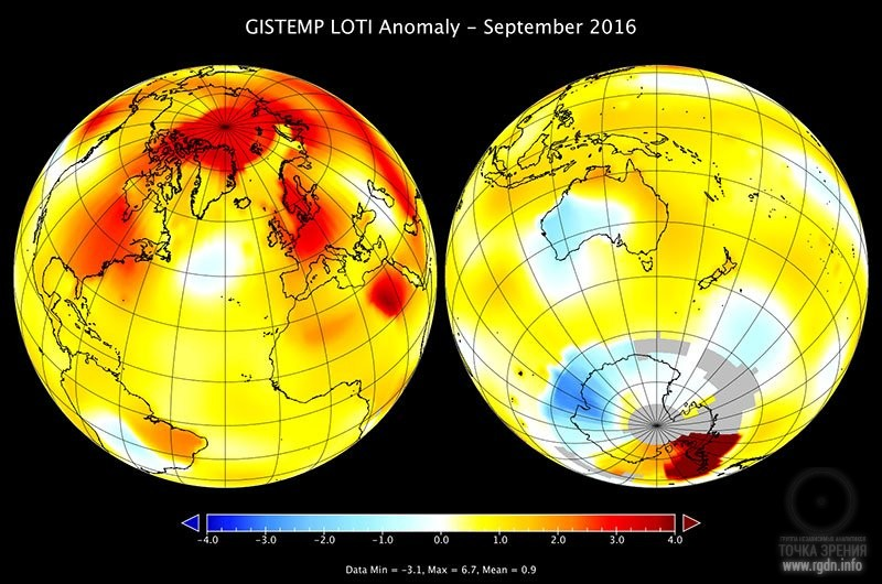 аномальная жара сентября 2016 года