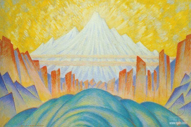 Химават, царь-гора, Меру