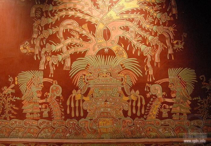 священное дерево у древних мексиканцев, Теотиукан