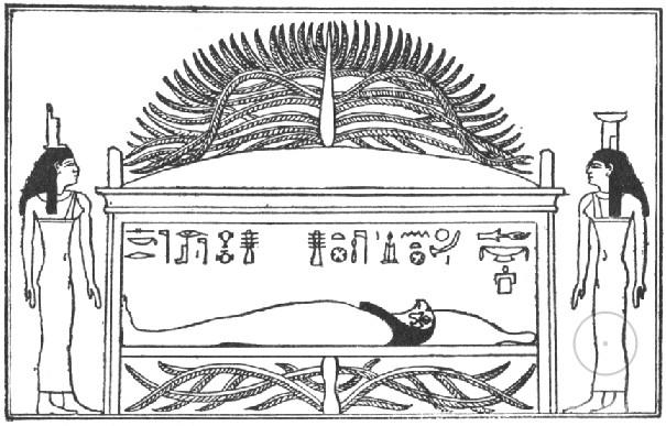 Осирис и дерево