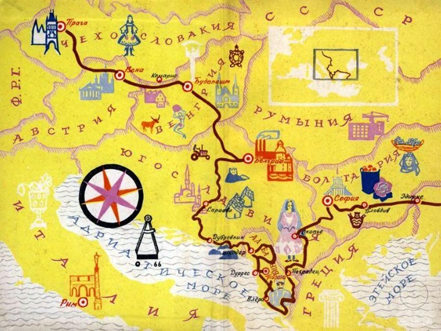 экспедиция, карта, схема