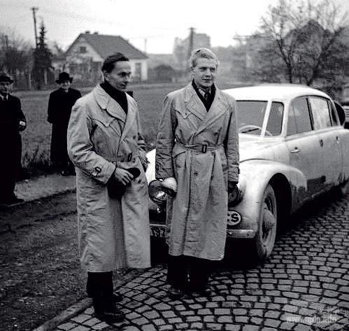 чехословацкие путешественники Мирослав Зикмунд и Иржи Ганзелка