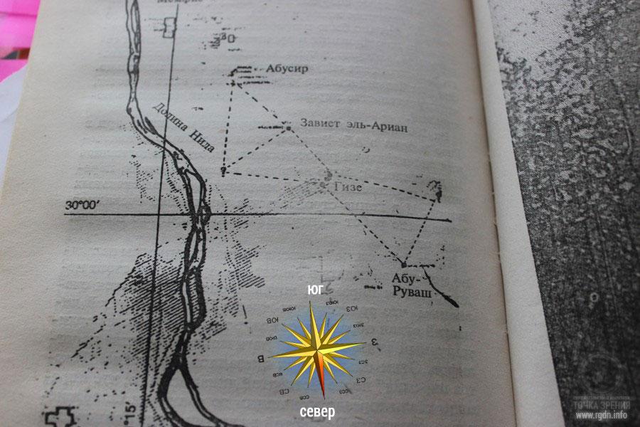 пирамиды Гизы и созвездие ориона