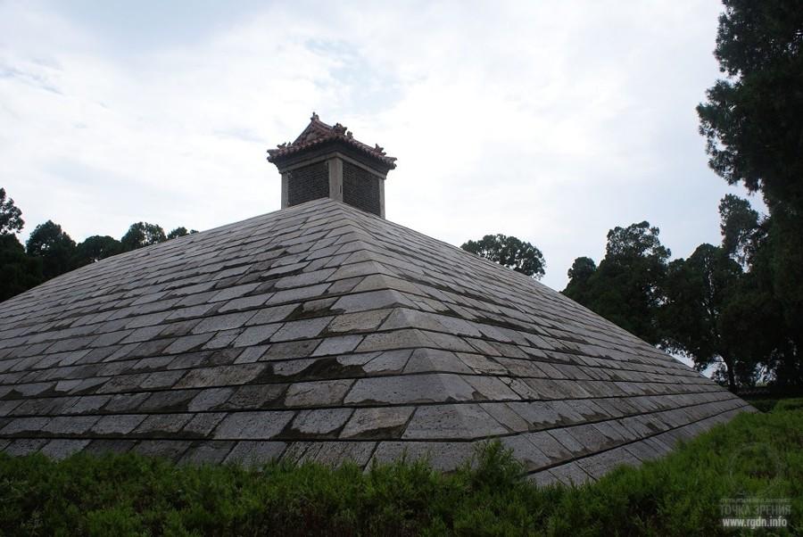 Shaohao Tomb пирамида в Китае