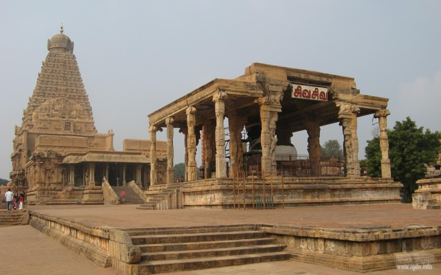 Храм Брихадишвара, посвящённый Шиве