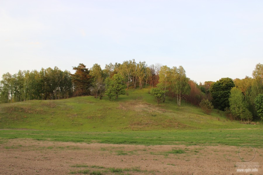 остроконечный холм