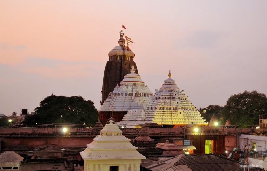 Храм Джаганнатхи в Пури