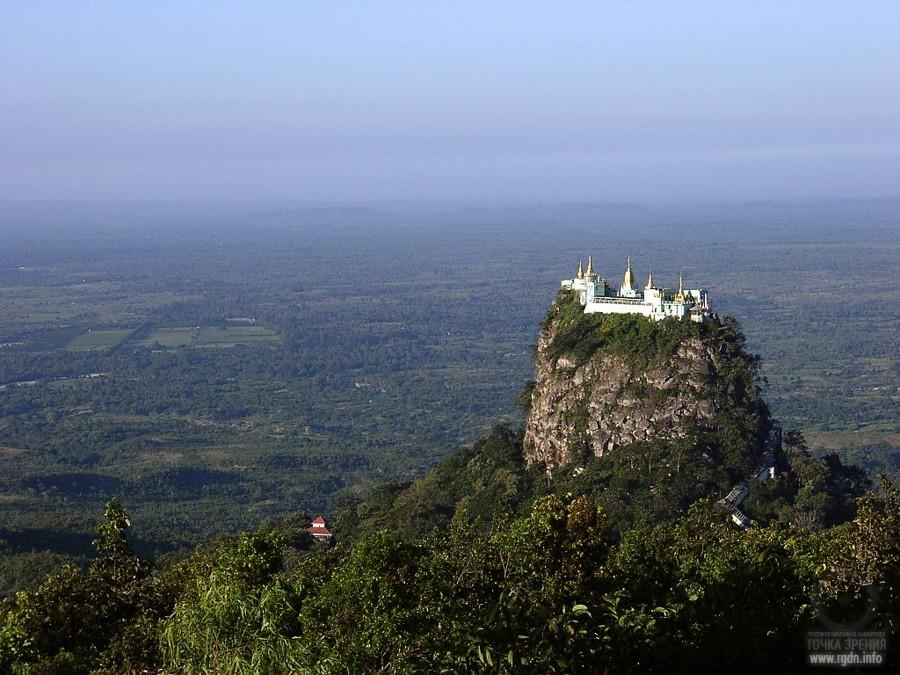 Монастырь Таунг Калат (Taung-Kalat)