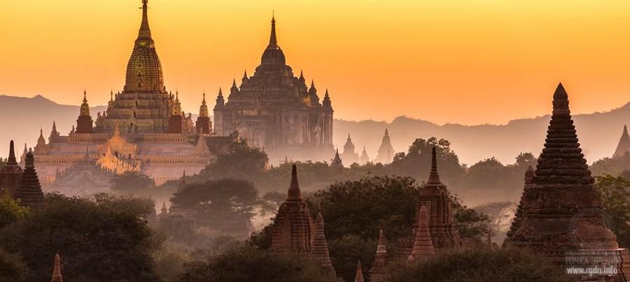пагоды Мьянмы