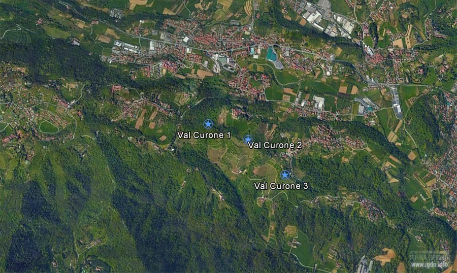пирамиды в Италии Val Corune