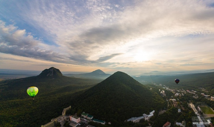 горы в Мин водах, Бештау