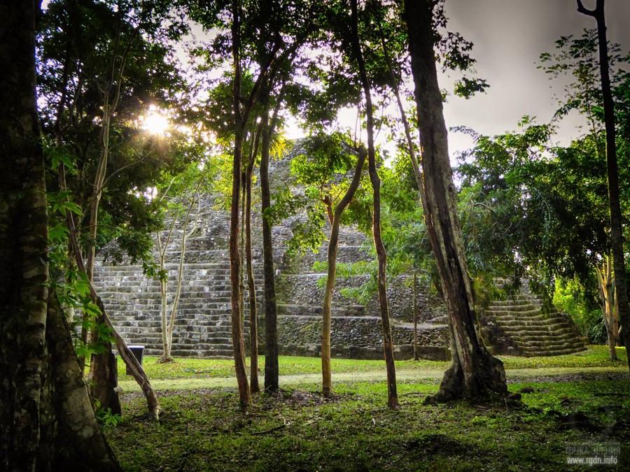 Йашха, Яшха, мексиканские пирамиды майя