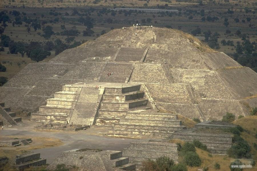Теотиуакан, мексиканские пирамиды майя