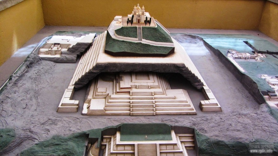 Чолула, мексиканские пирамиды майя