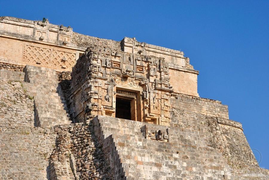 Ушмаль (Юкатан, Мексика), мексиканские пирамиды майя