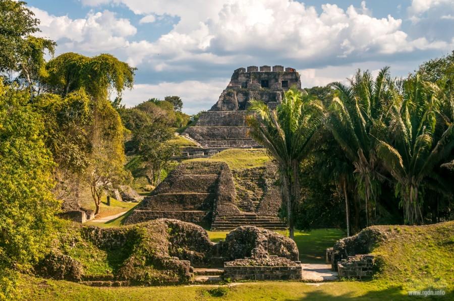 Шунантунич, мексиканские пирамиды майя