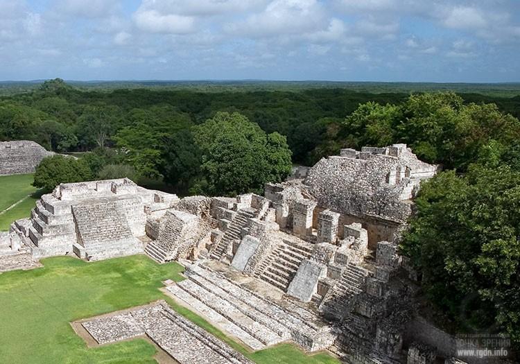Эц'на «Место Гремучей Змеи», мексиканские пирамиды майя
