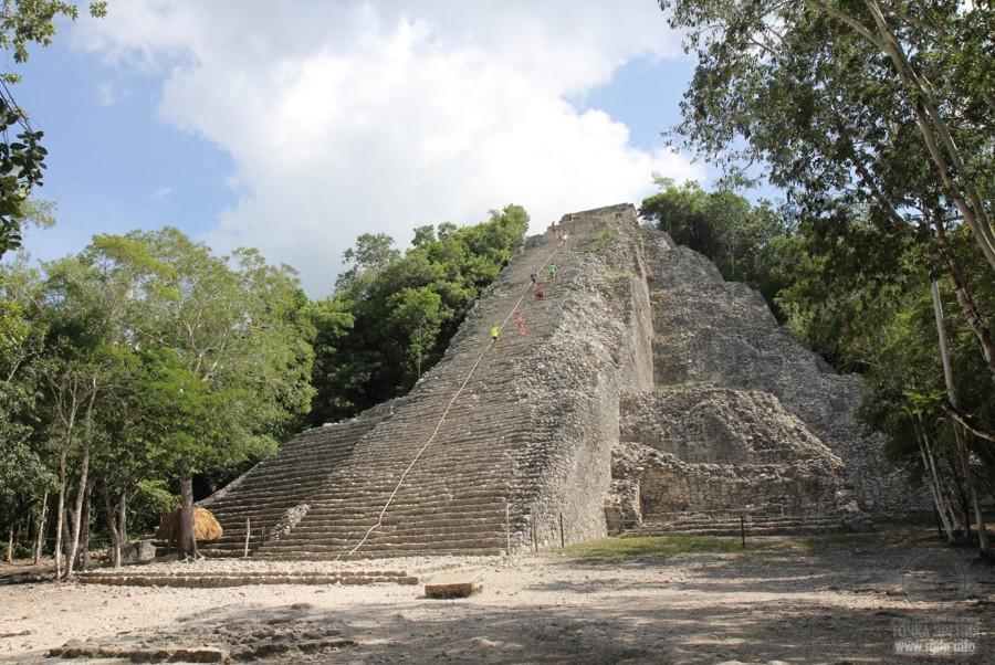 Нохоч Муль, мексиканские пирамиды майя