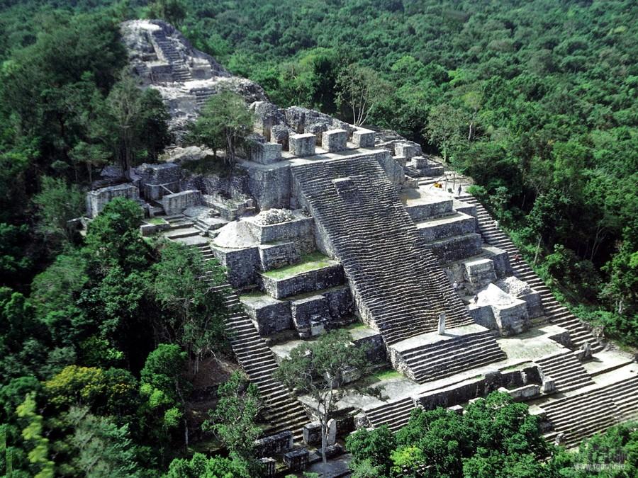 Калакмуль «Королевство змеи», мексиканские пирамиды майя