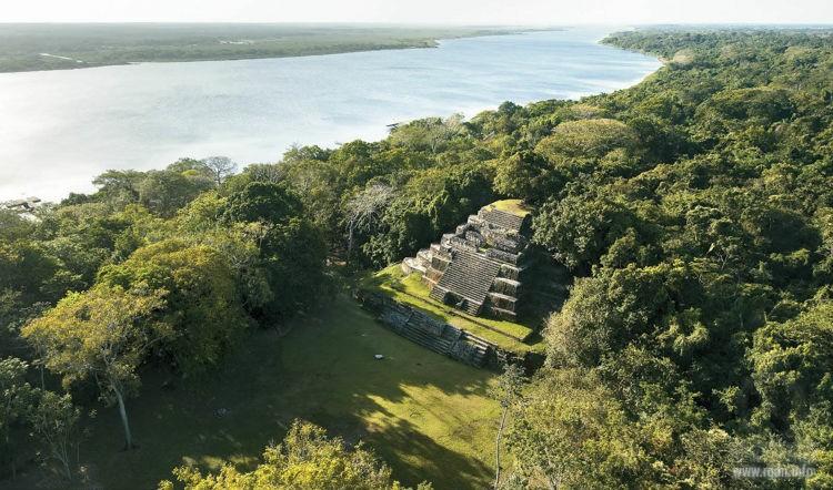 Ламанай (Lamanai), мексиканские пирамиды майя