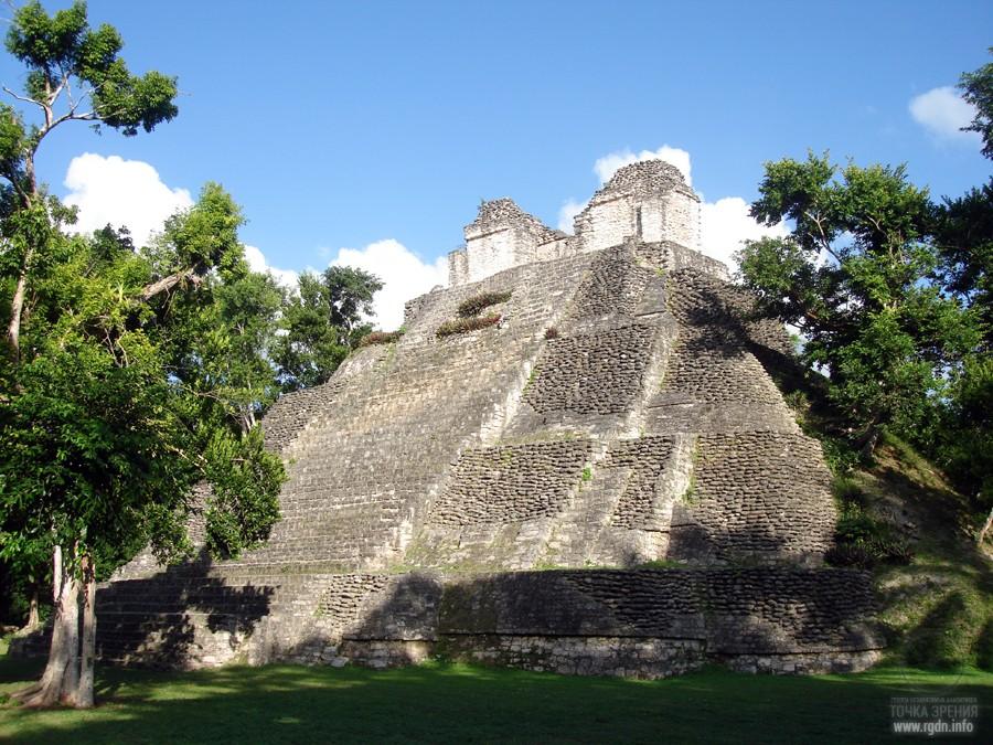 Дзибанче Dzibanche, мексиканские пирамиды майя