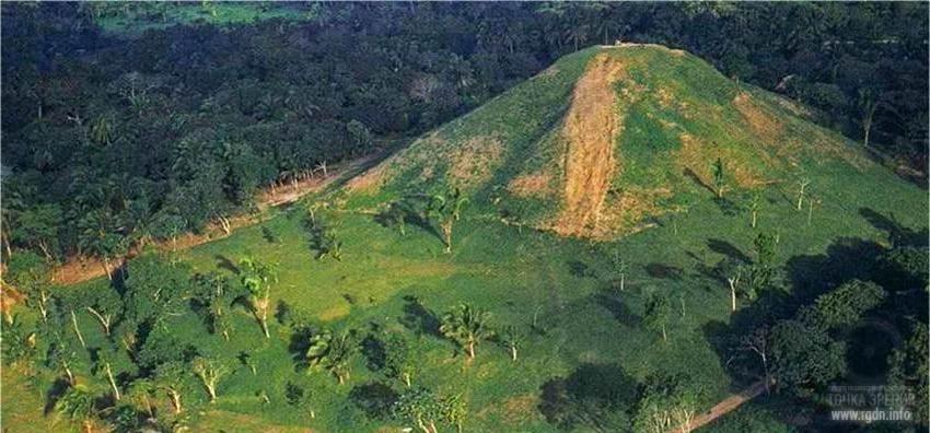 Ла-Вента, мексиканские пирамиды