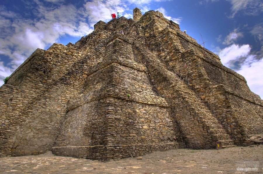 Тонина,пирамиды Мексики