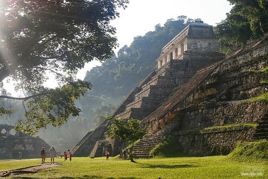 Паленке ,пирамиды Мексики
