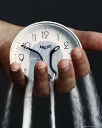 время утекает