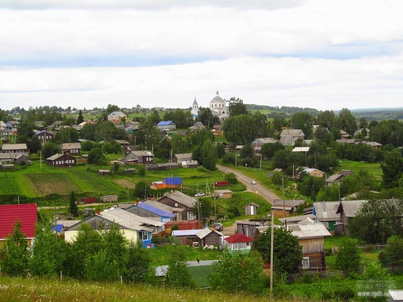 Село Ыб. Республика Коми.
