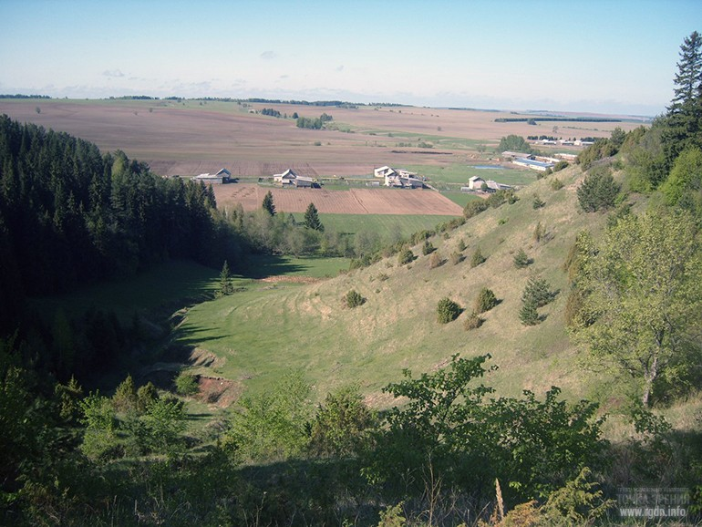 Деревня Водьзя