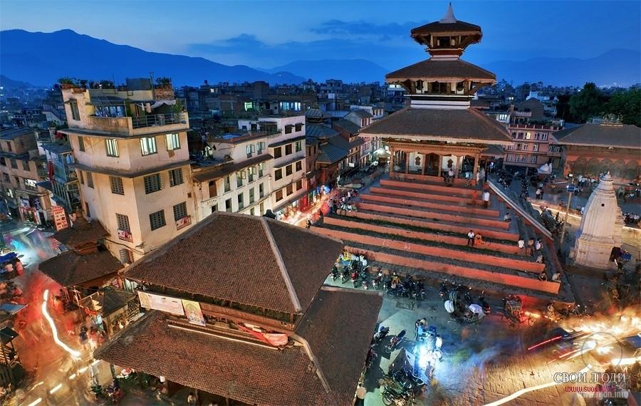 храмы пагоды Катманду
