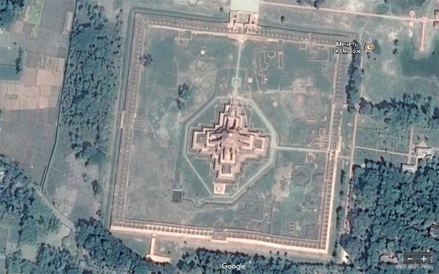Сомапура Махавихара, Somapura Mahavihara на карте