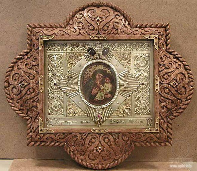 икона Божьей Матери «Одигитрия» («Путеводительница»)