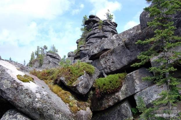 Горный массив Ергаки, Красноярский край. Каменный город Ергаки