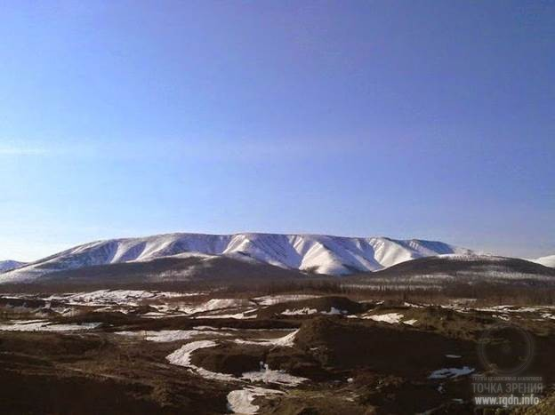 Хребет Кондёр, Хабаровский край, Россия