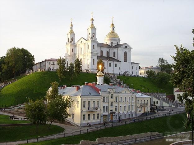 Церковь Пресвятой Богородицы. Витебск, Беларусь.