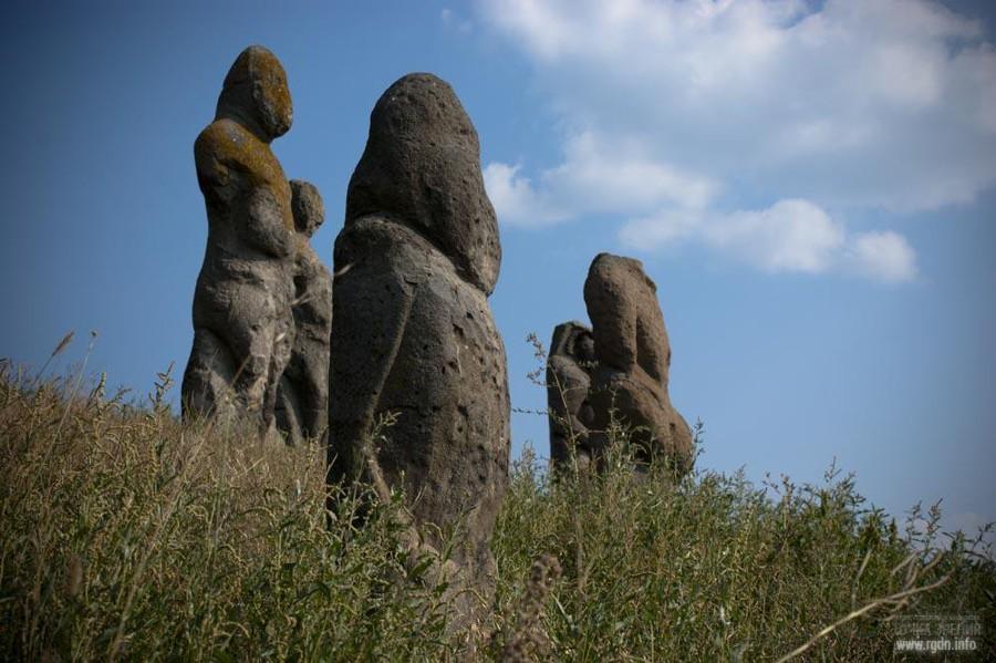 половецкие каменные бабы