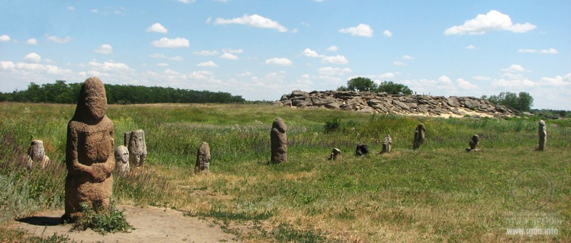 каменные половецкие бабы