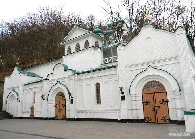 Пещерный комплекс Лавры и Святогорского монастыря