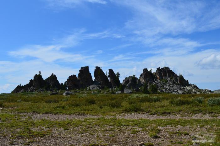 Замки Горных Духов, Республика Алтай