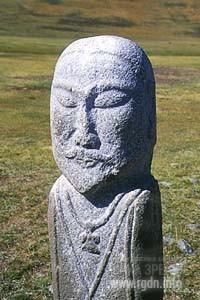 Каменные идолы на Алтае