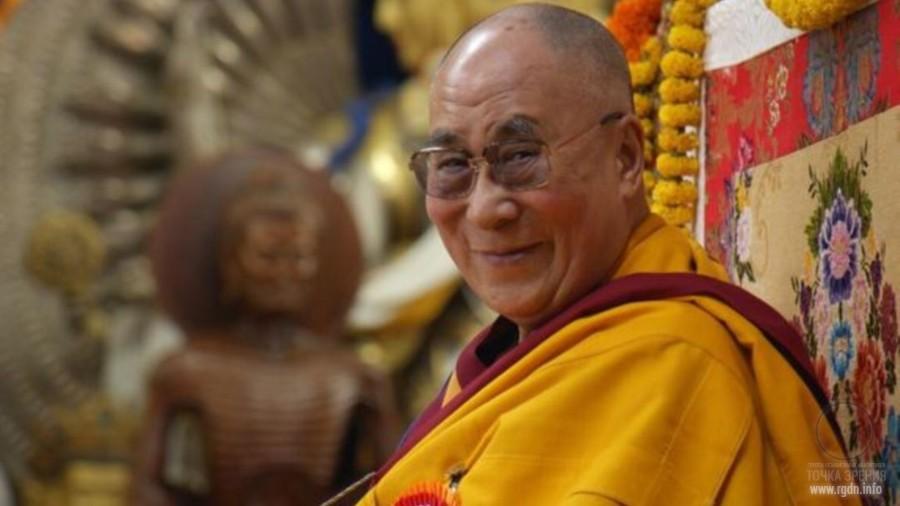 Далай лама у меня в гостях