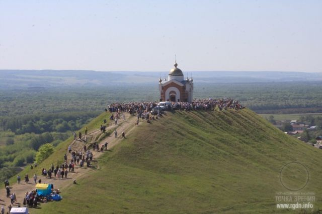 Никольская гора. Ульяновская обл. Россия