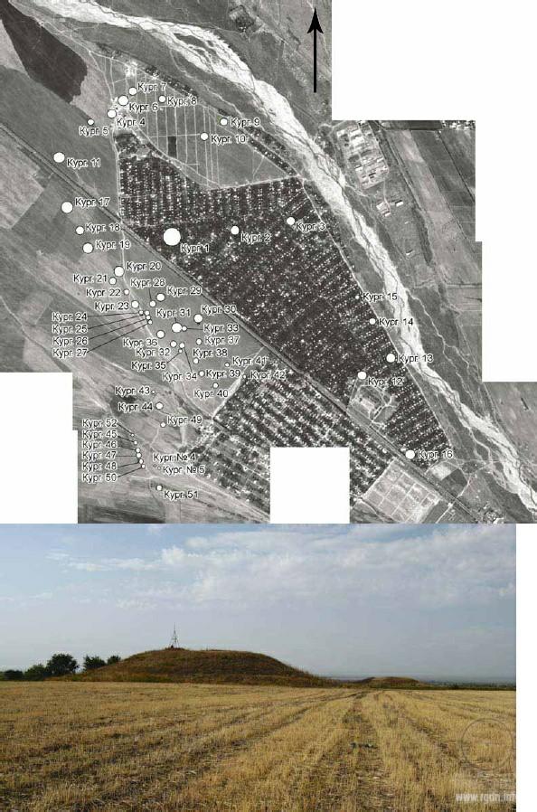 Курганный комплекс Иссык, Казахстан