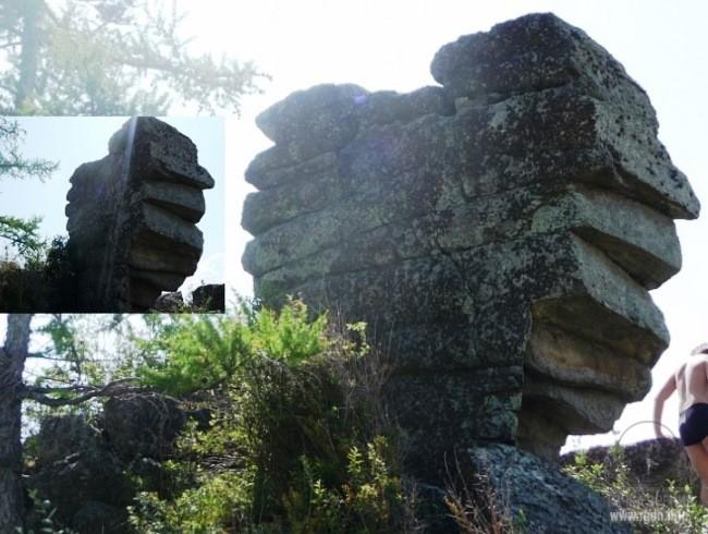 Ширинские столбы, Ширинский (Июсский) каменный парк,