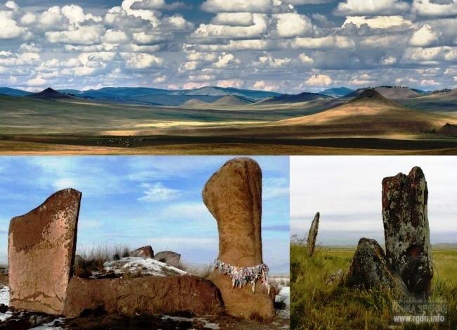 Ширинские столбы, Ширинский (Июсский) каменный парк