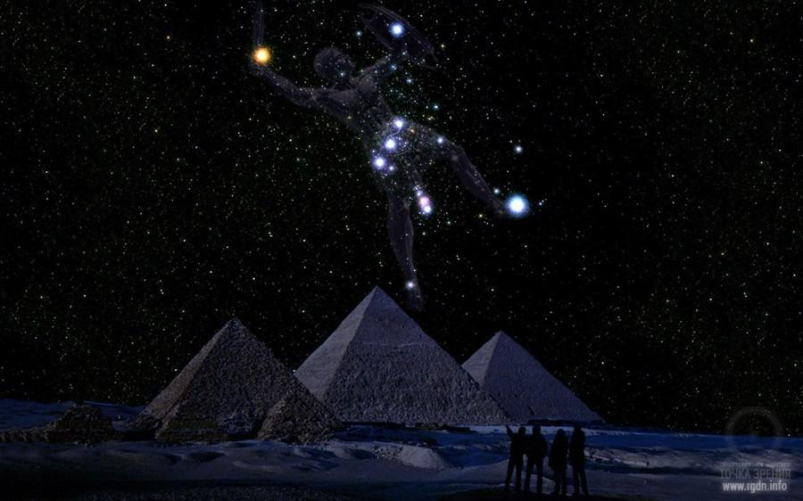 созвездие Ориона, египетские пирамиды