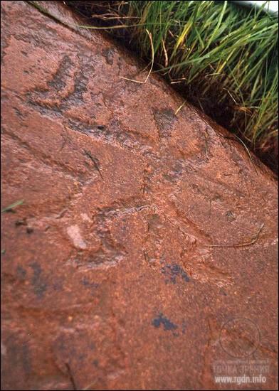Петроглифы в Чальмны-Варрэ, Мурманская область