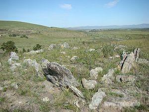Гора Ба́га-Заря́ (бур. Бага Заряа — маленький ёж), Бурятия